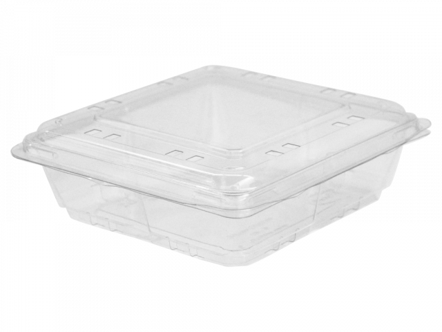 Clamshell 6oz 5×5 – 170 gr